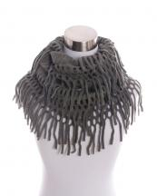 AINFK70912(DGY)-wholesale-knit-mesh-infinity-scarf-acrylic-trim-fringe-solid-plain-(0).jpg